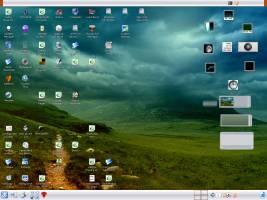 Enlightenment & KDE together
