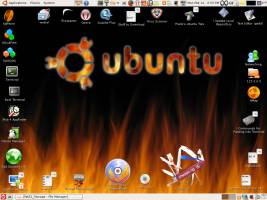 There are also themes designed for a laugh, like Ubuntu Satanic Edition!
