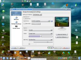 Changing the Desktop Background in Kubuntu