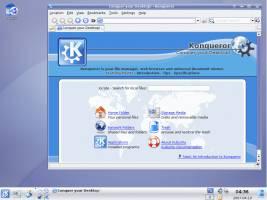 Kubuntu Live CD Desktop