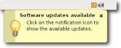 You'll be notified when updates are ready for download and installation