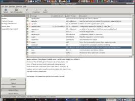 Synaptic Packager Manager for easy download and installation!