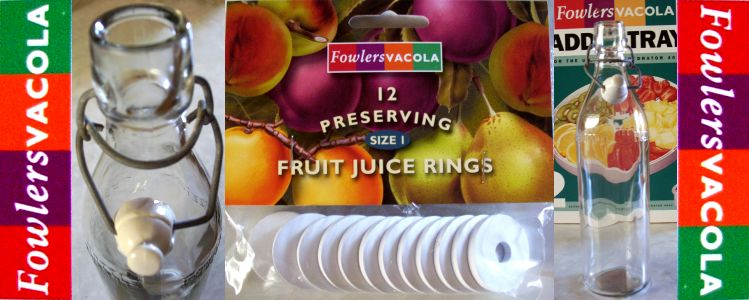 New-FOWLERS-VACOLA-Fruit-Juice-Bottle-Size1-RINGS-SEALS